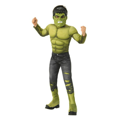 Marvel Avengers Infinity War Hulk Deluxe Boys Halloween Costume (Diy Marvel Costumes)