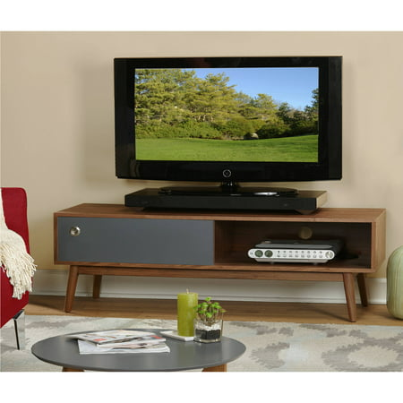 Lexi Walnut/Grey TV Stand for TVs up to 60″