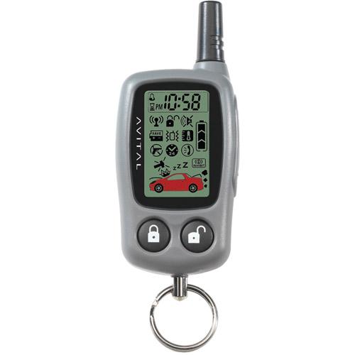 Avital 477L 2-Way LCD Remote