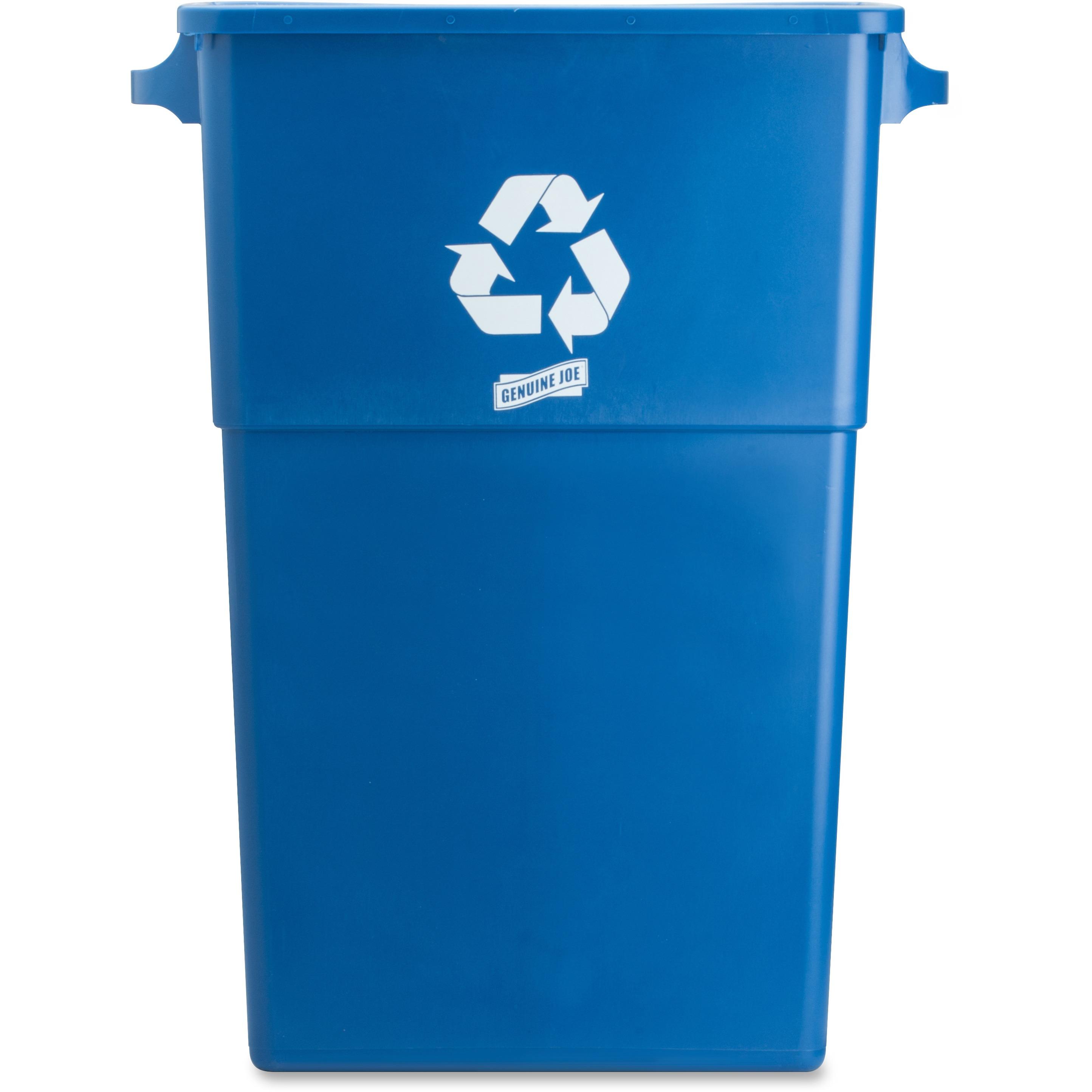 Genuine Joe 23 Gallon Recycling Bin