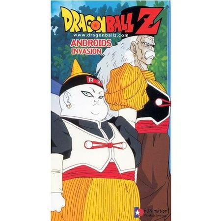 Dragon Ball Z Androids Invasion VHS 2000 Anime DBZ - -