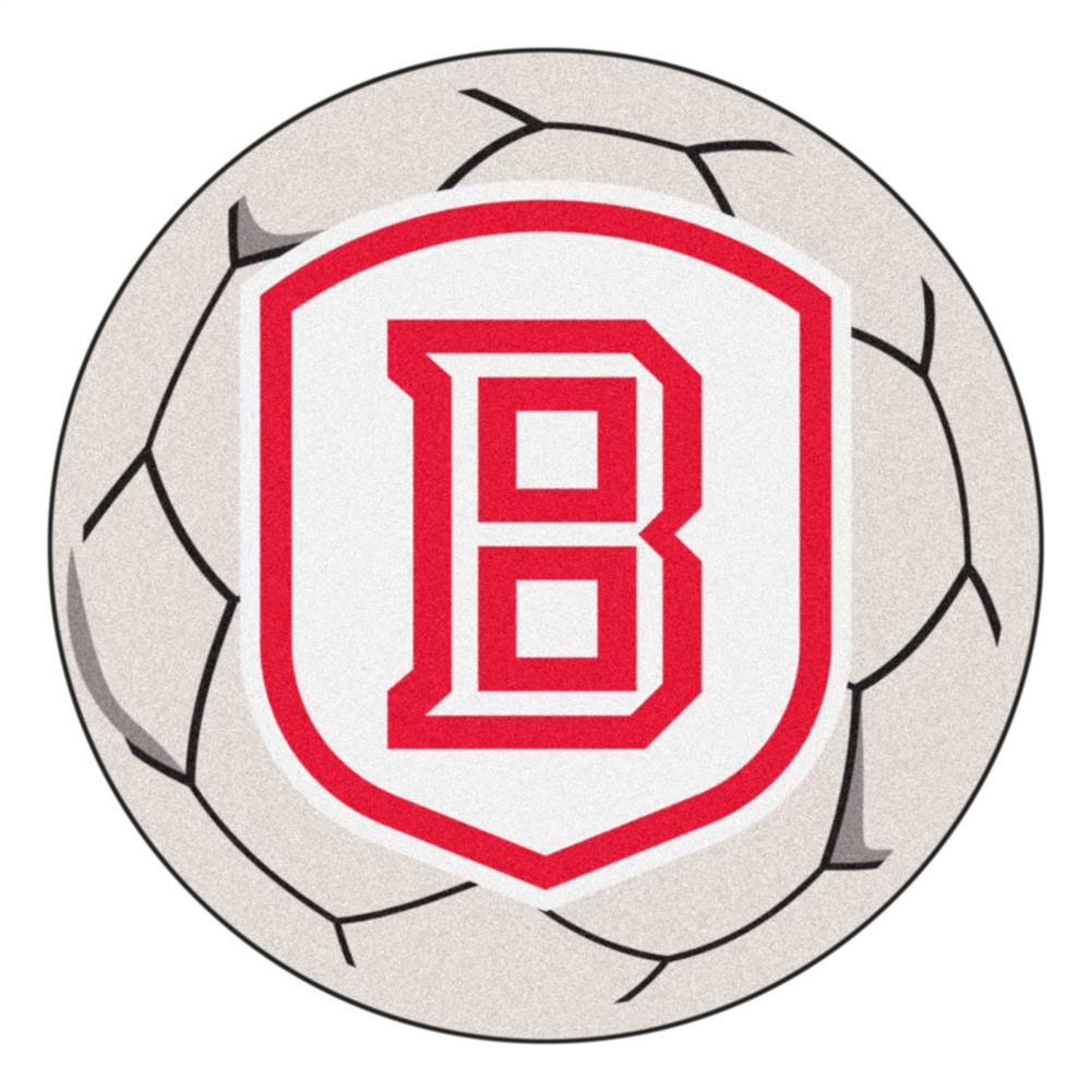 Bradley University NCAA Floor Mat w Soccer Ball Design
