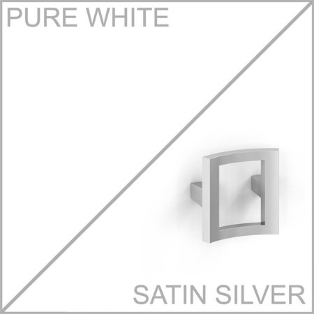 Office by Kathy Ireland Echo L Shaped Desk Office Suite in Pure White - image 6 de 7
