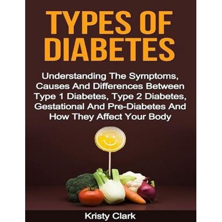 Types of Diabetes - Understanding the Symptoms, Causes and Differences Between Type 1 Diabetes, Type 2 Diabetes, Gestational and Pre Diabetes and How They Affect Your Body. -