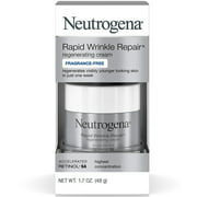 2 Pack - Neutrogena Rapid Wrinkle Repair Cream Fragrance Free 1.7 oz