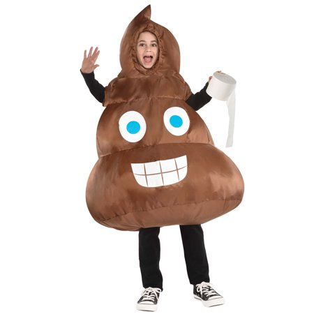 Inflatable Poop Child Costume