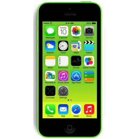 Refurbished Apple iPhone 5c 8GB, Green - Unlocked -