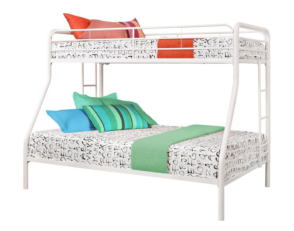 Harper Bright Designs Twin Over Full Metal Bunk Bed Mutiple Colors