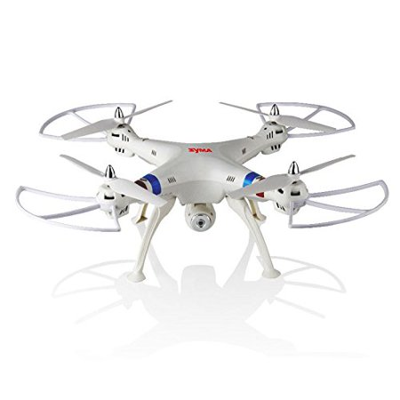 JYA _ New Version Syma X8c 2.4g Venture with 2mp Wide Angle Camera Rc Quadcopter Drone UFO Better Than X5c Great Gifts (White_bl