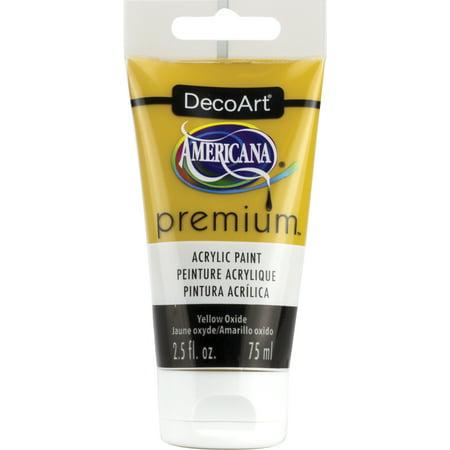 Americana Premium Acrylic Paint Tube 2.5Oz-Yellow Oxide - image 1 de 1