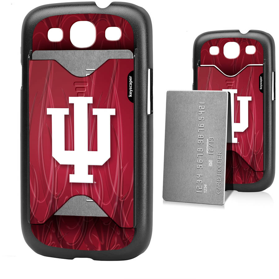 Indiana Hoosiers Galaxy S3 Credit Card Case