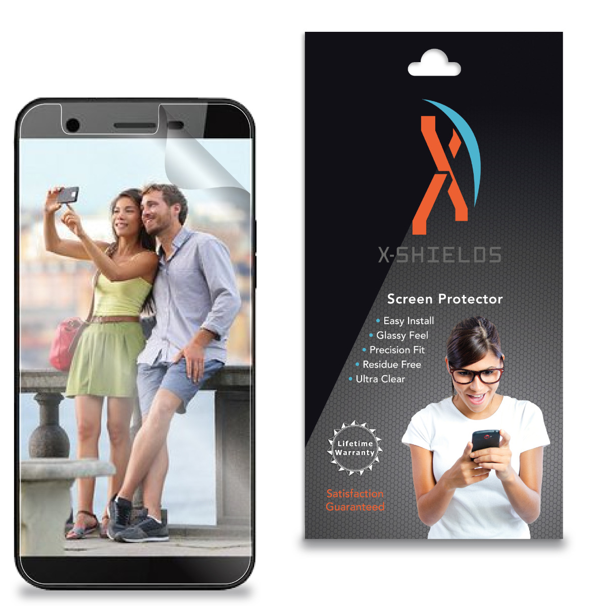 XShields© Screen Protectors for Sky Platinume 5.0+   [5-Pack]
