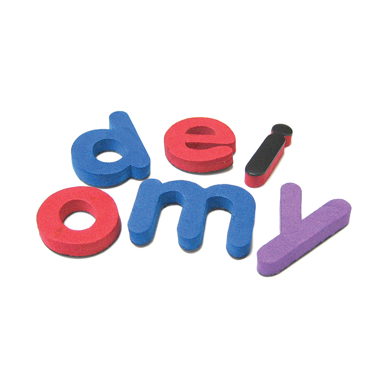 (5 Ea) Magnetic Foam Small Lowercase Letters