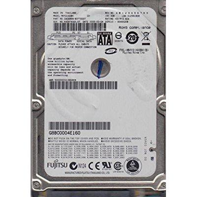 5400rpm 8mb Notebook Hard Drive - Fujitsu MHY2160BH 2.5-Inch 160GB SATA/150 5400RPM 8MB  Notebook Hard Drive