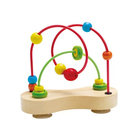 Hape - E1801 | Double Bubble Wooden Bead Maze - image 1 of 5