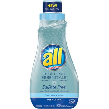 All Fresh Clean Essentials Fresh Scent Liquid Laundry Detergent  36 4 Fl Oz