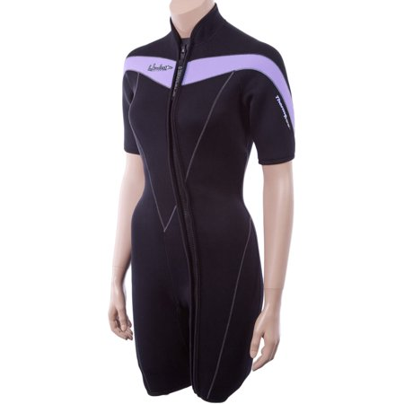 Henderson Thermoprene 3mm womens front zip wetsuit (with Plus, Tall, & (Wetsuits For Tall Women)