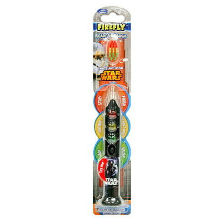 Dr. Fresh Firefly Star Wars Ready Go Brush 1 Minute Light-Up Fun Tooth Brush, Colors May Vary, 1 ea, 2 Pack - Fire Flys