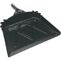 "Harper 12"" Metal Dust Pan, Black by Harper Brush Works Inc"