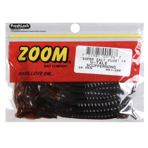 """Zoom U-Tail Worm, 6-3/4"""""""