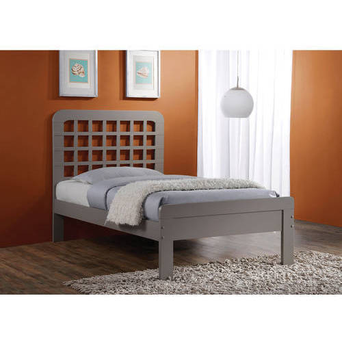 Lyford Twin Bed, Grey