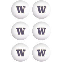 Washington Huskies WinCraft 6-Pack Table Tennis Balls - No Size