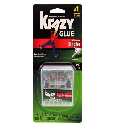 Krazy Glue Krazy Glue SingleUse Tubes w/Storage Case, 4/Pack KG58248SN DMi PK](Glee Cast Halloween)