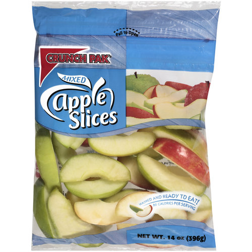 Crunch Pak Mixed Apple Slices, 14 oz