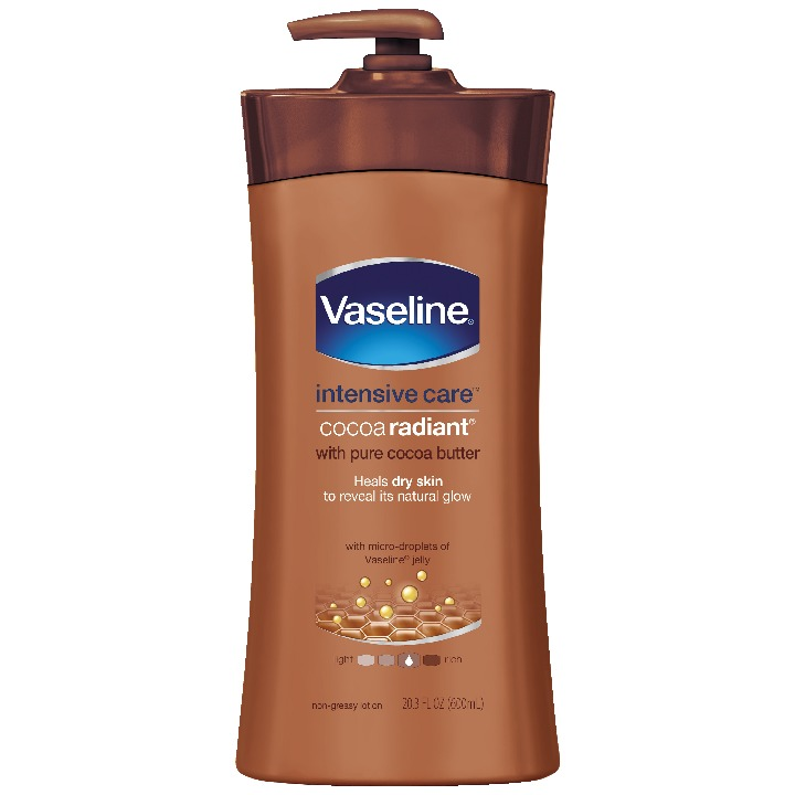Vaseline Intensive Care Body Lotion Cocoa Radiant 20.3 oz