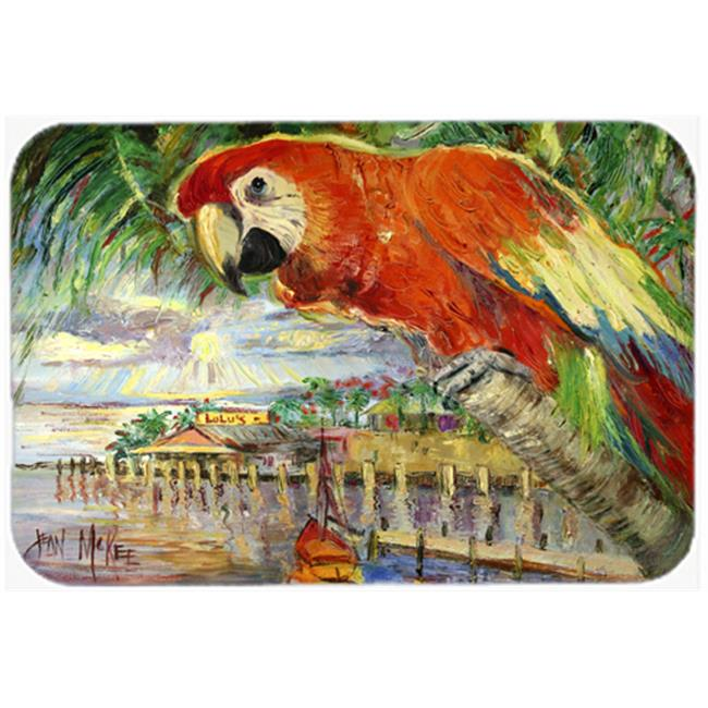 Red Parrot At Lulus Mouse Pad, Hot Pad & Trivet - image 1 of 1