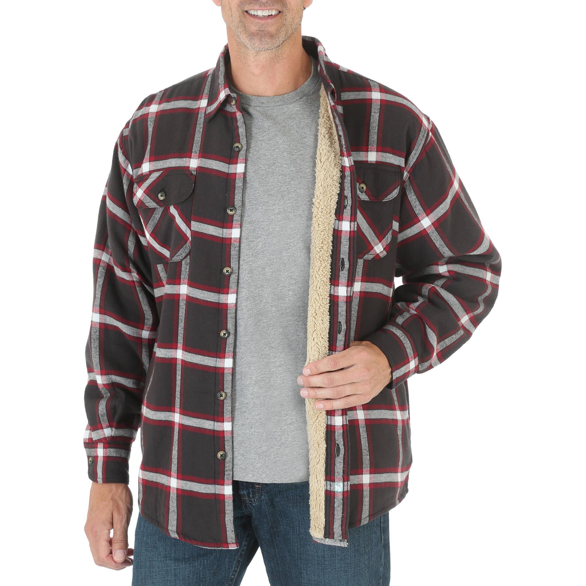 Wrangler Big Men's Heavyweight Woven Shirt