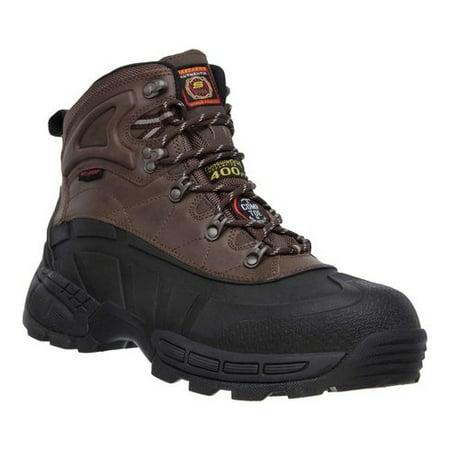 Men's Skechers Work Radford WP Composite Toe Ankle Boot Composite Work Boots