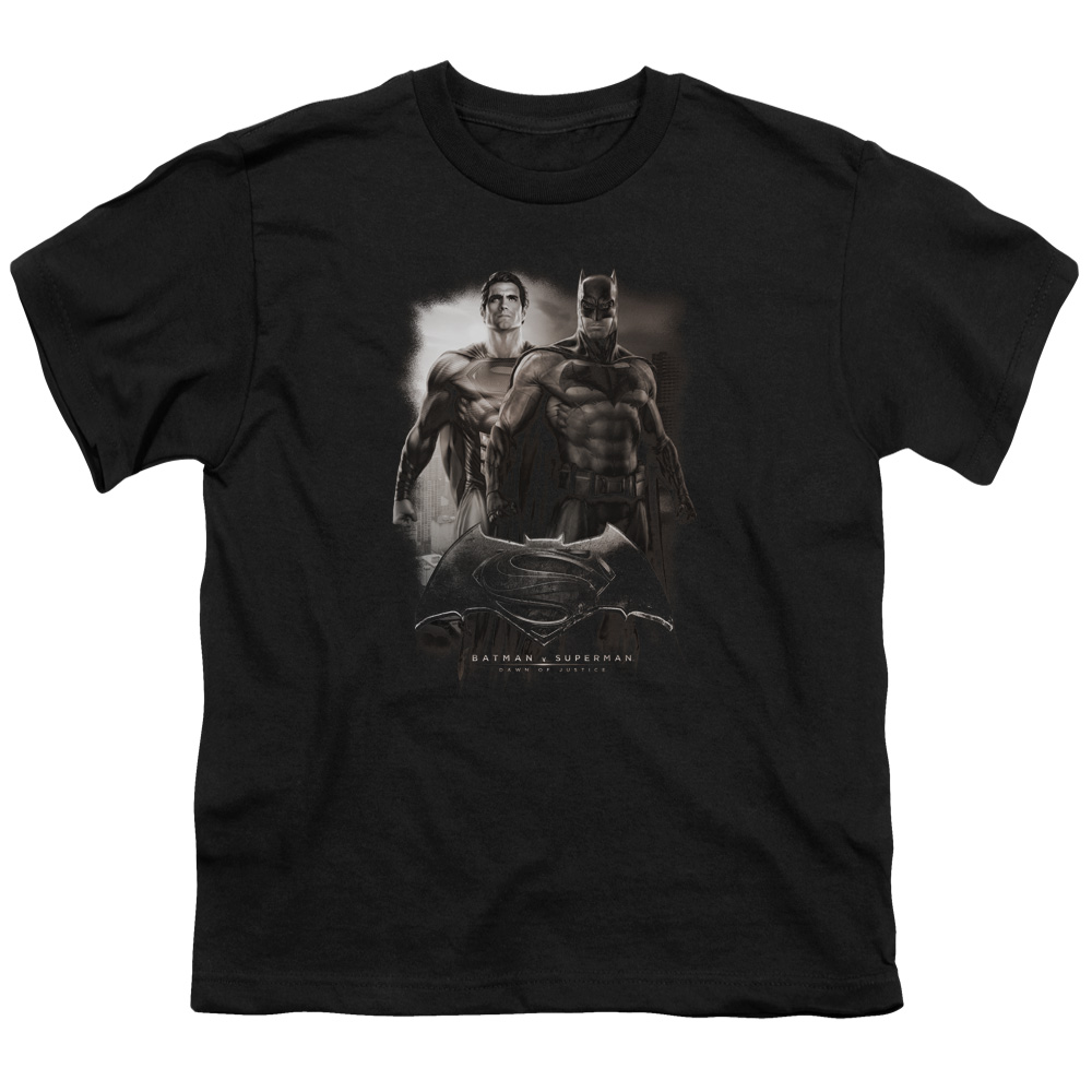 Batman Vs Superman Dawn Big Boys Shirt