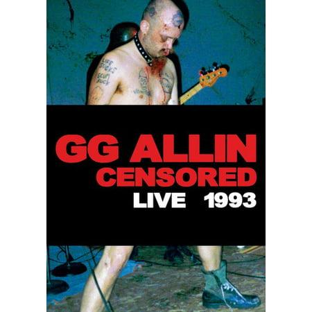 Allin Gg-Censored / Uncensore (DVD) ()