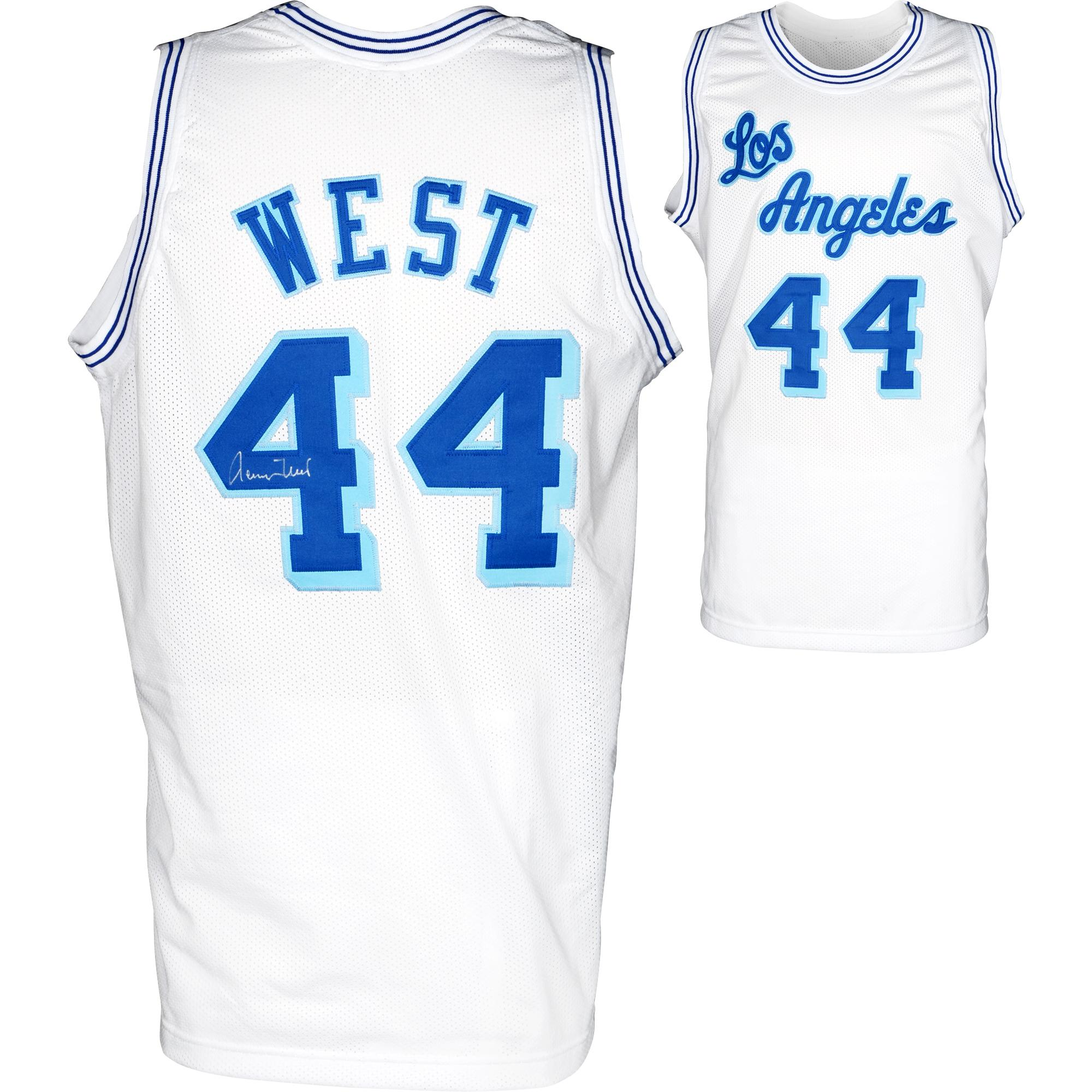 Jerry West Los Angeles Lakers Autographed Jersey