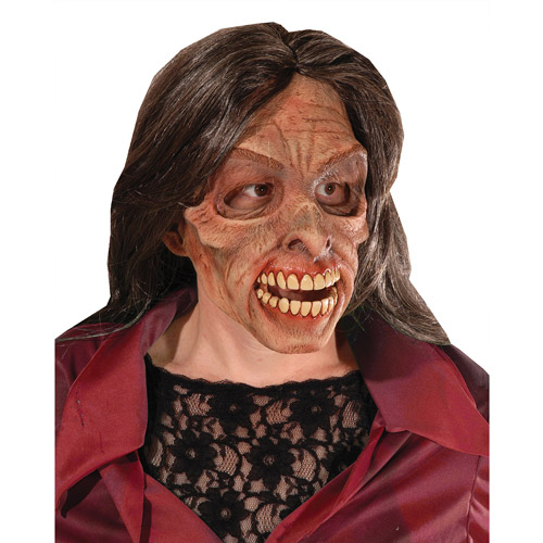 Mrs Living Dead Halloween Adult Latex Mask