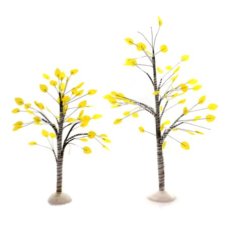Department 56 Accessory VILLAGE AUTUMN ASPEN TREES Fall Indoor Use 6003217 ()