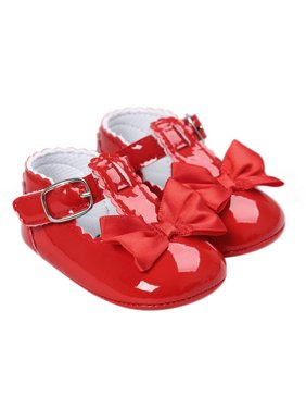 aa233816d3b5 Product Image BOBORA Summer Toddler Baby Girl Bow Anti-slip Crib Shoes Soft  Sole Prewalker 0-