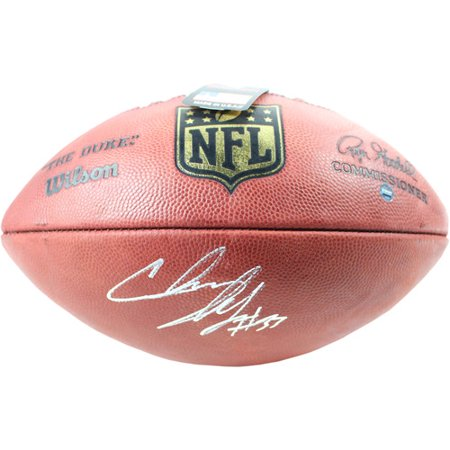 Steiner Sports Chris Ivory Signed NFL Duke Football (Steiner Sports Puck Case)