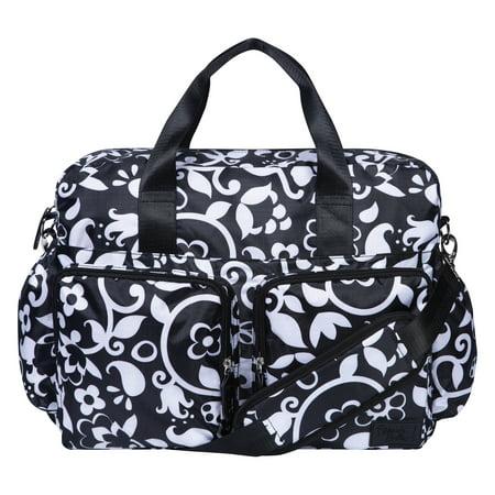 French Bull Vine Deluxe Duffle Diaper Bag