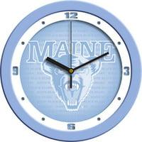 Maine Baby Blue Wall Clock
