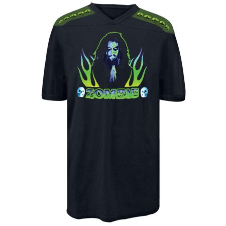 Rob Zombie - Praying Flames Football - Zombi Football