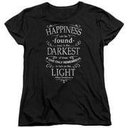 Harry Potter Happiness Womens Short Sleeve Shirt