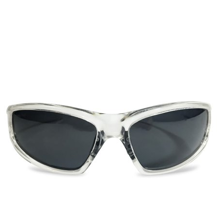 e890e3ccd5 Shady Rays - Shady Rays X Series Black Lenses with Clear Ice Frames  Polarized Sunglasses - Walmart.com