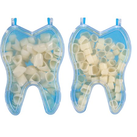 Yosoo 50pcs Dental Temporary Crown Material For Anterior Teeth and Molar Posterior