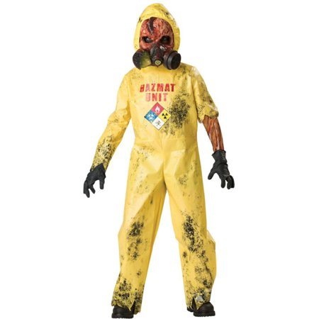 Morris costumes IC92006SM Hazmat Hazard Child Sz 6 - Hazmat Costumes