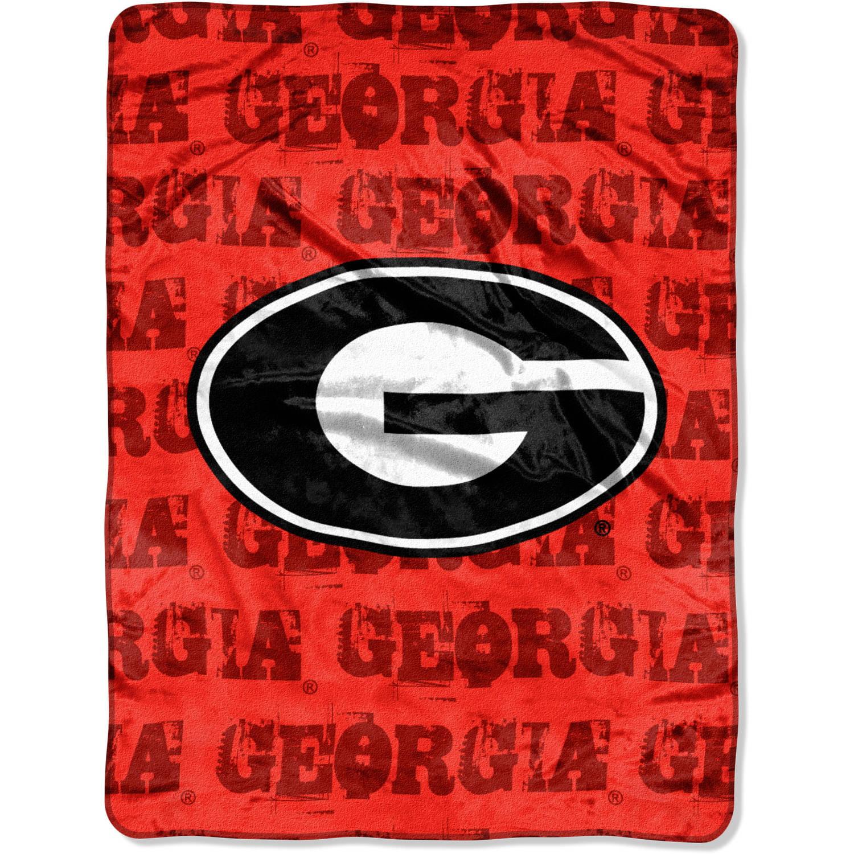 "NCAA Georgia Bulldogs 46"" x 60"" Micro Raschel Throw"