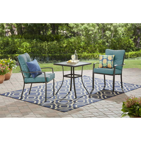 Mainstays Forest Hills 3-Piece Bistro Set ()