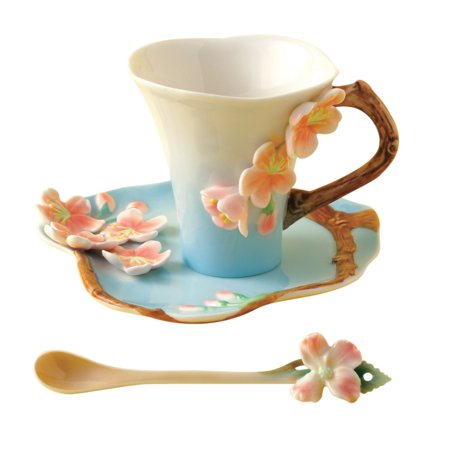 Two's Company - Garden Tea Party Set - Cherry Blossom