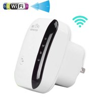 WiFi Extender - TSV 300Mbps Fast Speed WiFi Booster,Extends WiFi Range to Smart Home in Every Corner - WiFi Repeater Compatible with any Wireless Network,Mini Size Wall Plug Design,Easily Set Up